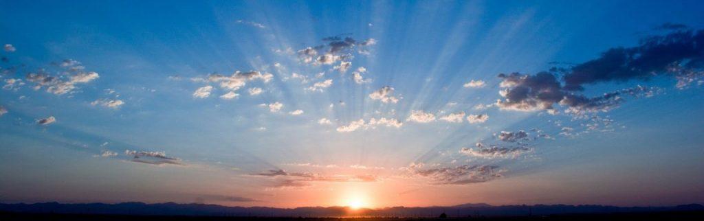 image levé de soleil